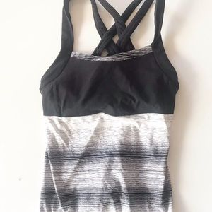 Athleta Tank Top Side Crunch and Punch